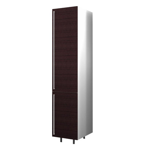 40 Cm. Wengee Mali Tall Unit With Shelves Right