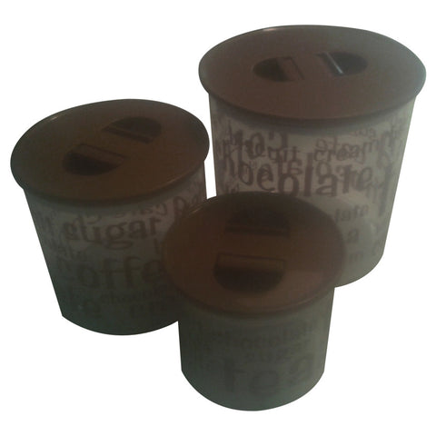 Pioneer - Air tight canister 3 pcs/set