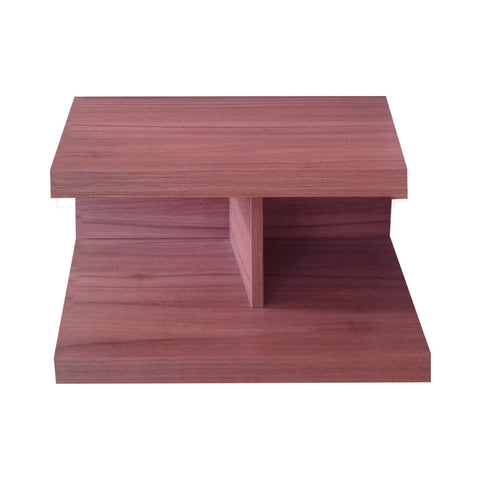 Alfa side table 57*40 cm  Wall nut