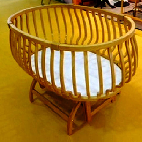 Baby Bed Beech plywood