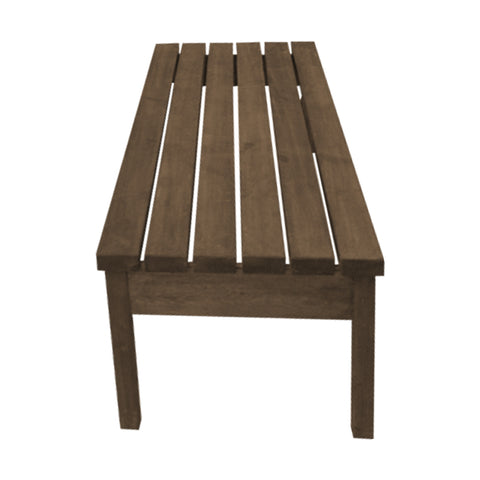 "Out Door Picnic X1 ""Unpainted"" Bench Without Back Pine wood"