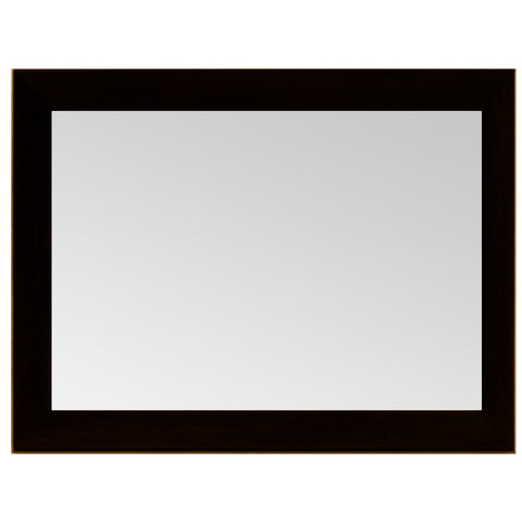 Horizontal Frame With Mirror Black