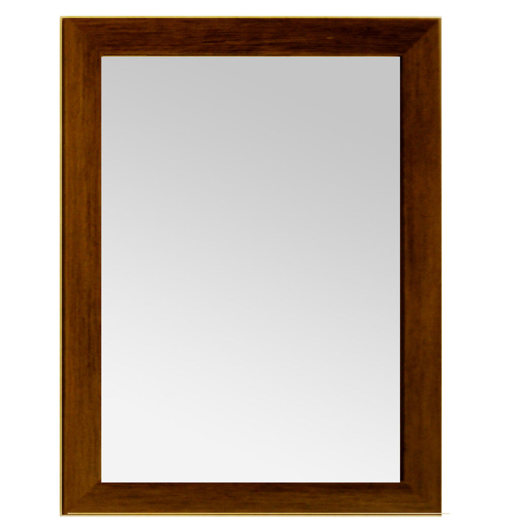 Vertical Frame With Mirror Brown - Designy Egypt