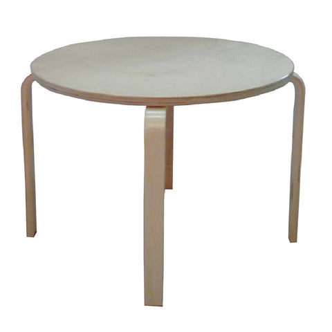 CHILD TABEL birch plywood,white table top