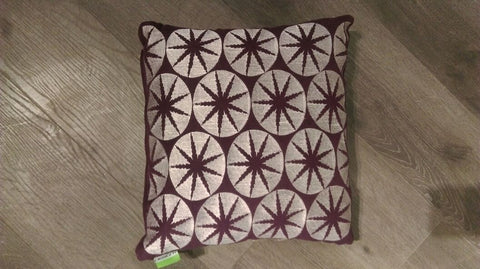 CUSHION FLAKE FALL MULTI Violet/Gray