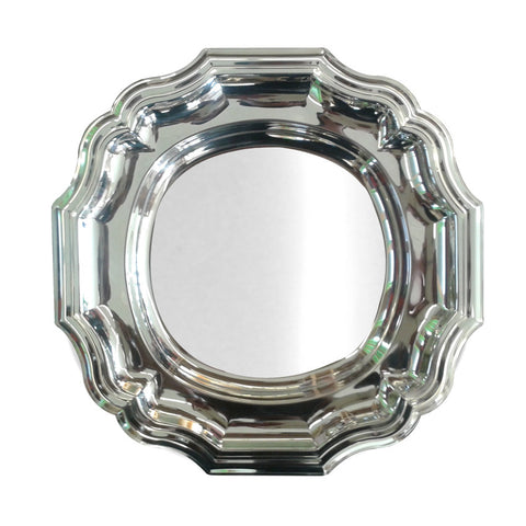 Classico 6 Circular  serving Tray 30 Cm Stainless Steel