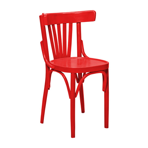 Chair - asyoty chair Red Matt