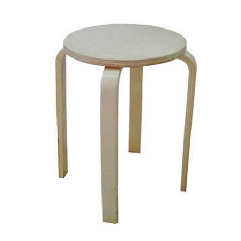 FROSTA M STOOL natural color wood
