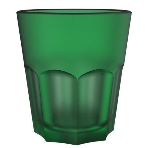 Deli Medium Coca Cup Green Frosted