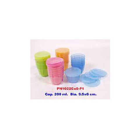 Pioneer - Jelly mould, 6 pcs