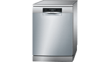 60 cm, Dishwashers Serie 8, Free-standing, 14 PS, Stainless steel BOSCH