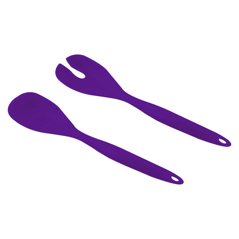Salad Spoons - 2 pcs Set (Purple)
