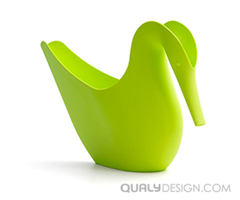 Swan Watering Can Green