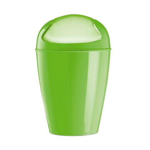 Swing-Top Wastebasket_DEL S solid mustard green_K4