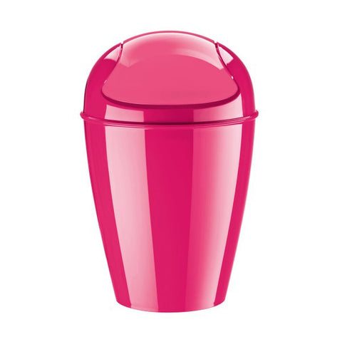Swing-Top Wastebasket_DEL S solid pink_K4