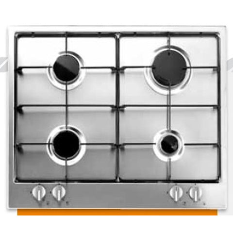 THOMSON 60 Cm. Gas Flat Cooker Stainlesteel - 4 Eyes