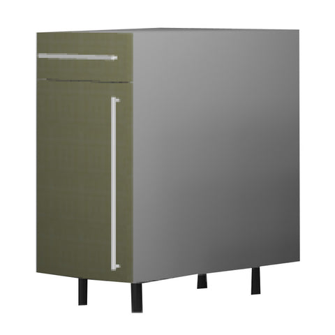 45 Cm. Greenish Base Unit With Drawer & Shelf  Left