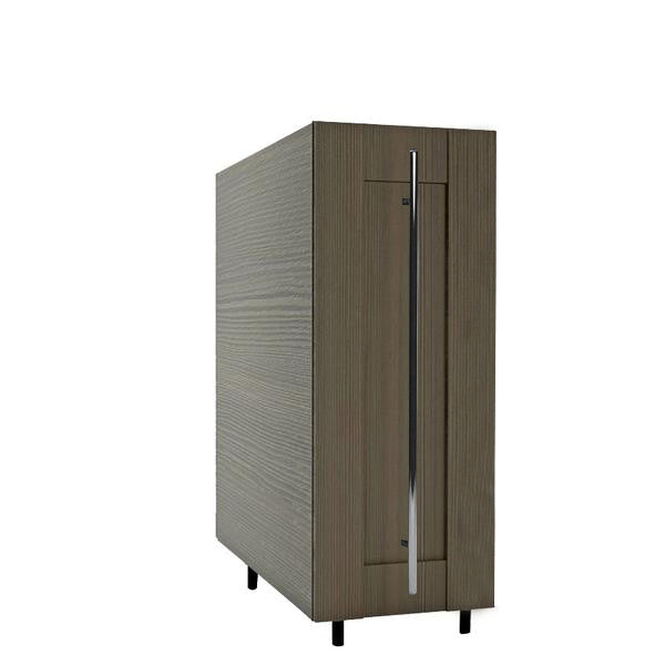 30 Cm. Wengee Mali Cadr Base Unit Pullout with Hafele Accessories