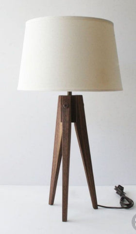 Three Leg Wood Lighting Unit