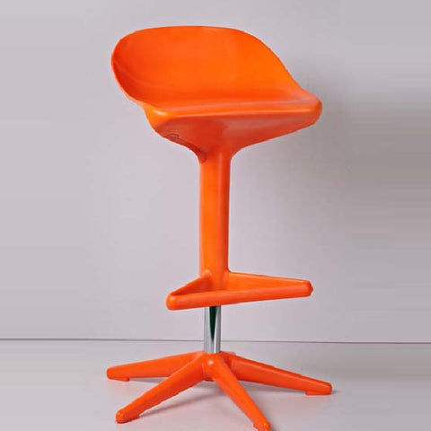 Chair - barstool spoon chair