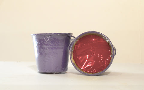 Small Bucket filled with Citronella Purple Red
