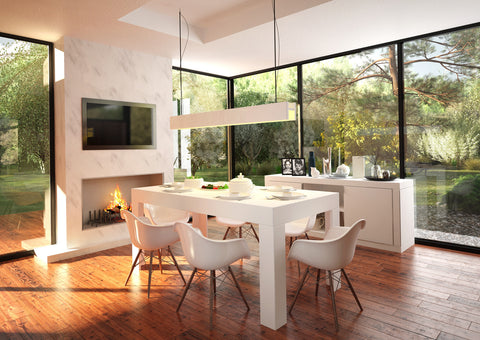 TRIO 2.0 Dining Room White SEMI MATT