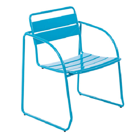 Chair - metal arm chair for kids