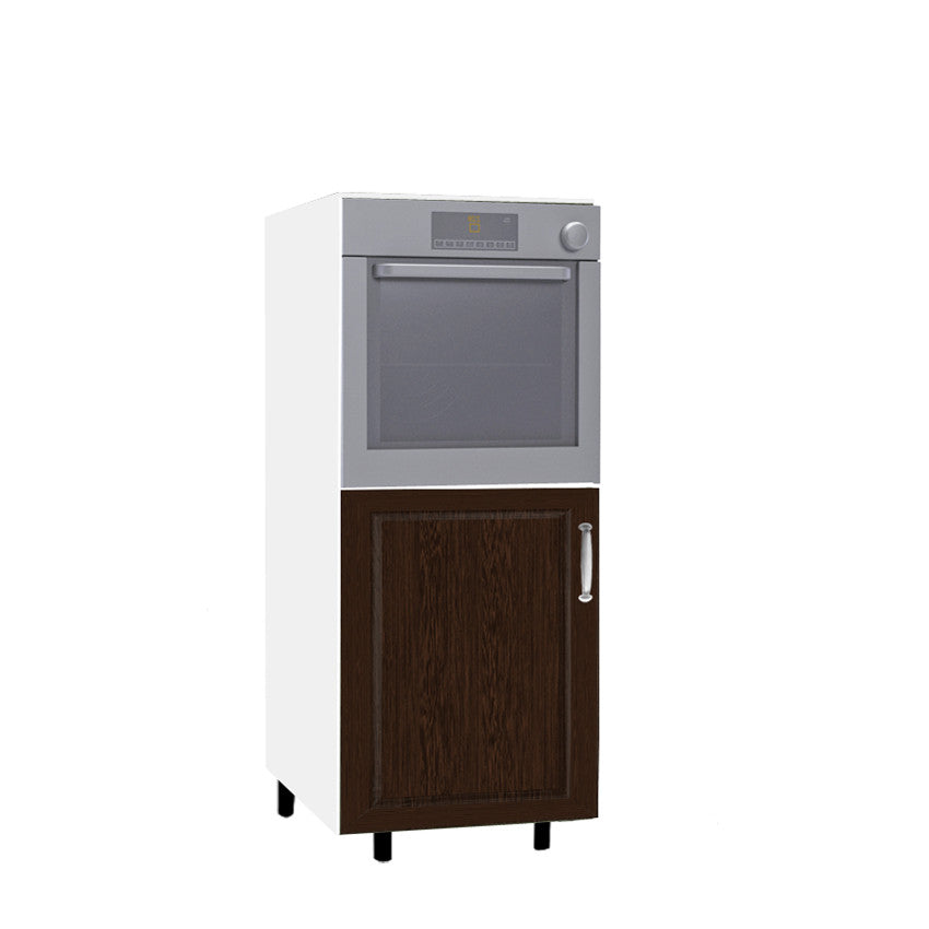 3D-wenge - 60 Cm. Medium Base Oven Unit Left