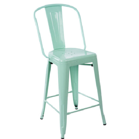 Chair - tolix mesh bar stool