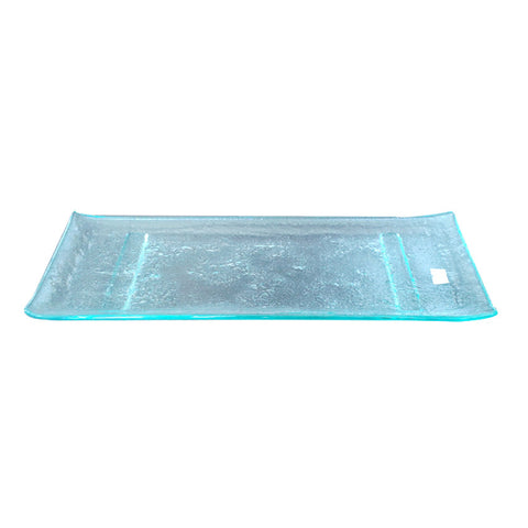 Vitra Rectangle Glass Serving Tray 40.5 * 21.5 Cm.