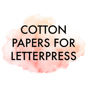Let's Talk Letterpress Cotton Paper Options (Updated!)