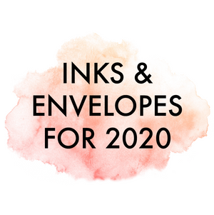 Fresh Colors for 2020 - Ink & Envelope