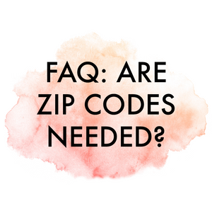 Are Zip Codes Needed on Wedding Invitations?