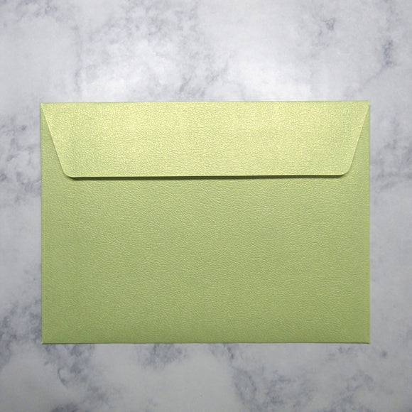 Lime Envelopes {Pearlized}