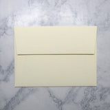 *Ecru Cotton Envelopes