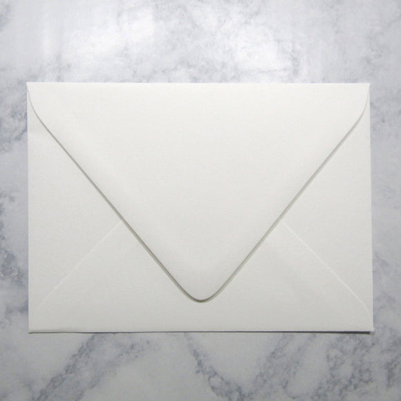 *White Cotton Envelopes