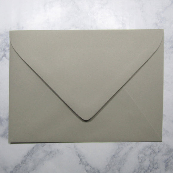 Gravel Gray Envelopes