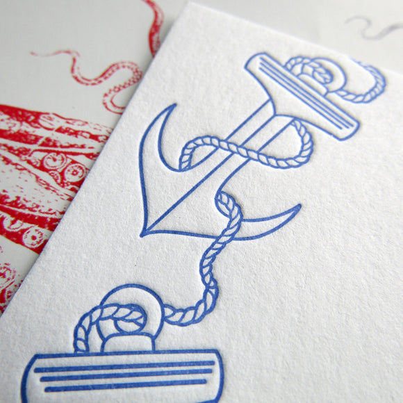 Anchor Trio Stationery