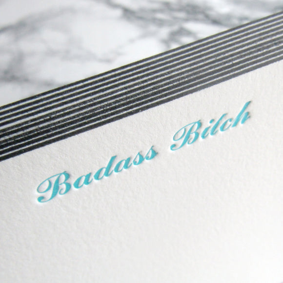 Badass Bitch Stationery {Last One!}