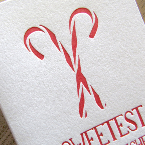 Sweetest Holiday Wishes Cards {custom}