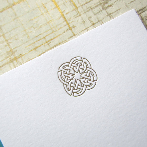Celtic Knot Stationery {Last One!}