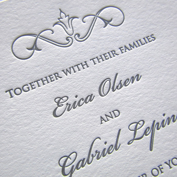 Claudette Wedding Invitations