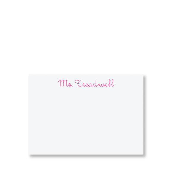 Danvers Personalized Stationery (S)