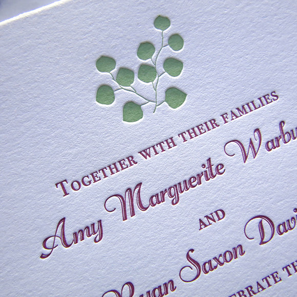 Fontaine Wedding Invitations