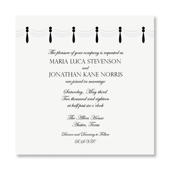 Garbo Wedding Invitations