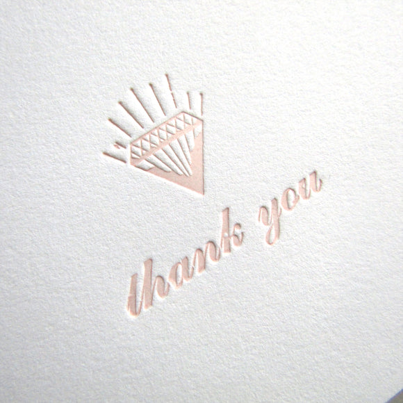 Gem Thank You Cards