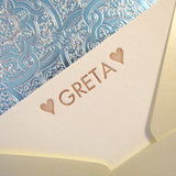 Greta Personalized Stationery (M)