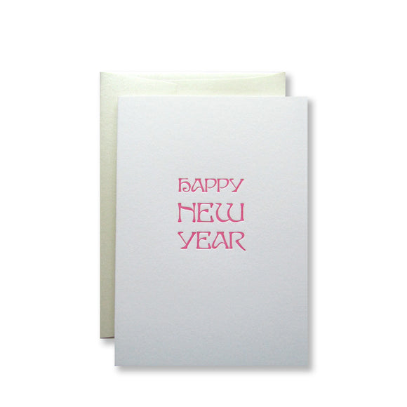 Happy New Year Card {Pink}