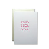 Happy New Year Cards {Pink}