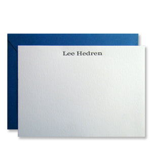 Hedren Personalized Stationery (L)